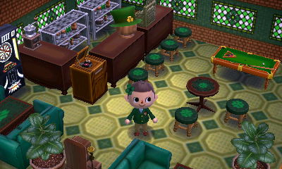 Animal crossing new leaf shamrock tapete boden qr code for Animal crossing boden qr