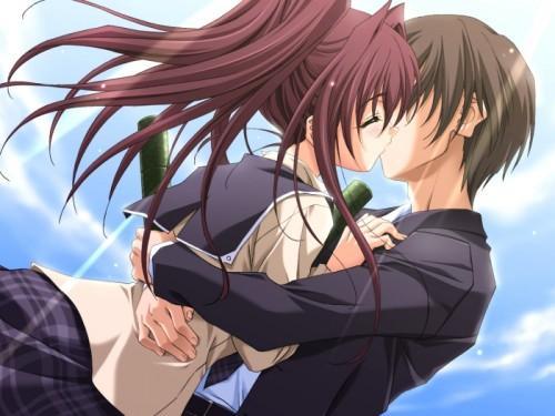 Das ist das Bild - (Anime, Bilder, Kuss)