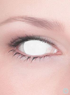 ganz weiß - (Kontaktlinsen, Anlass, Funlinsen)