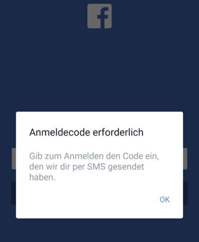 Anmeldecode