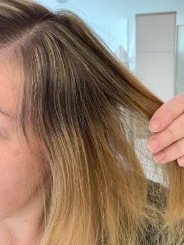 Ansätze vom Friseur- Reklamation gerechtfertigt?