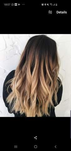 Blond färben oft wie ansatz Ombré vs.
