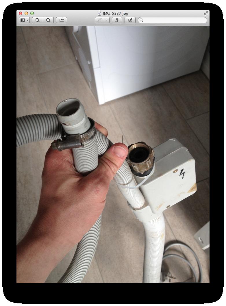 Hervorragend Anschließen einer Spülmaschine (Haus, Anschluss, Spuelmaschine) XT44