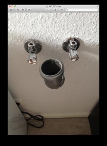 Wasseranschluss Küche - (Haus, Anschluss, Spuelmaschine)