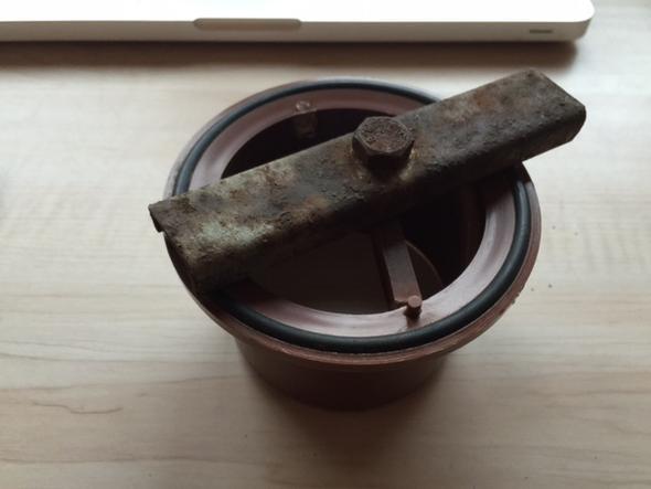 Anschluss ans Abflussrohr 1 - (Handwerker, Rohr, Abwasser)