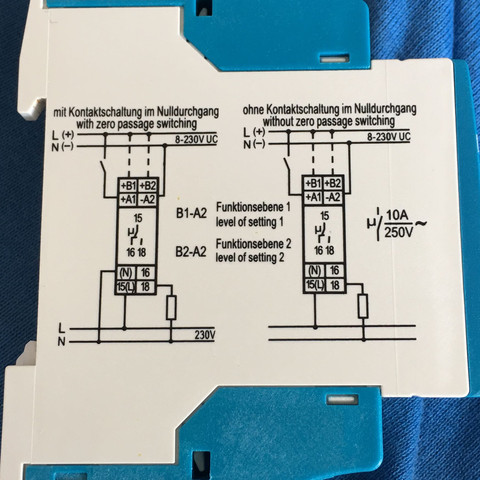 Anschlussplan  - (Elektronik, Strom, elektro)