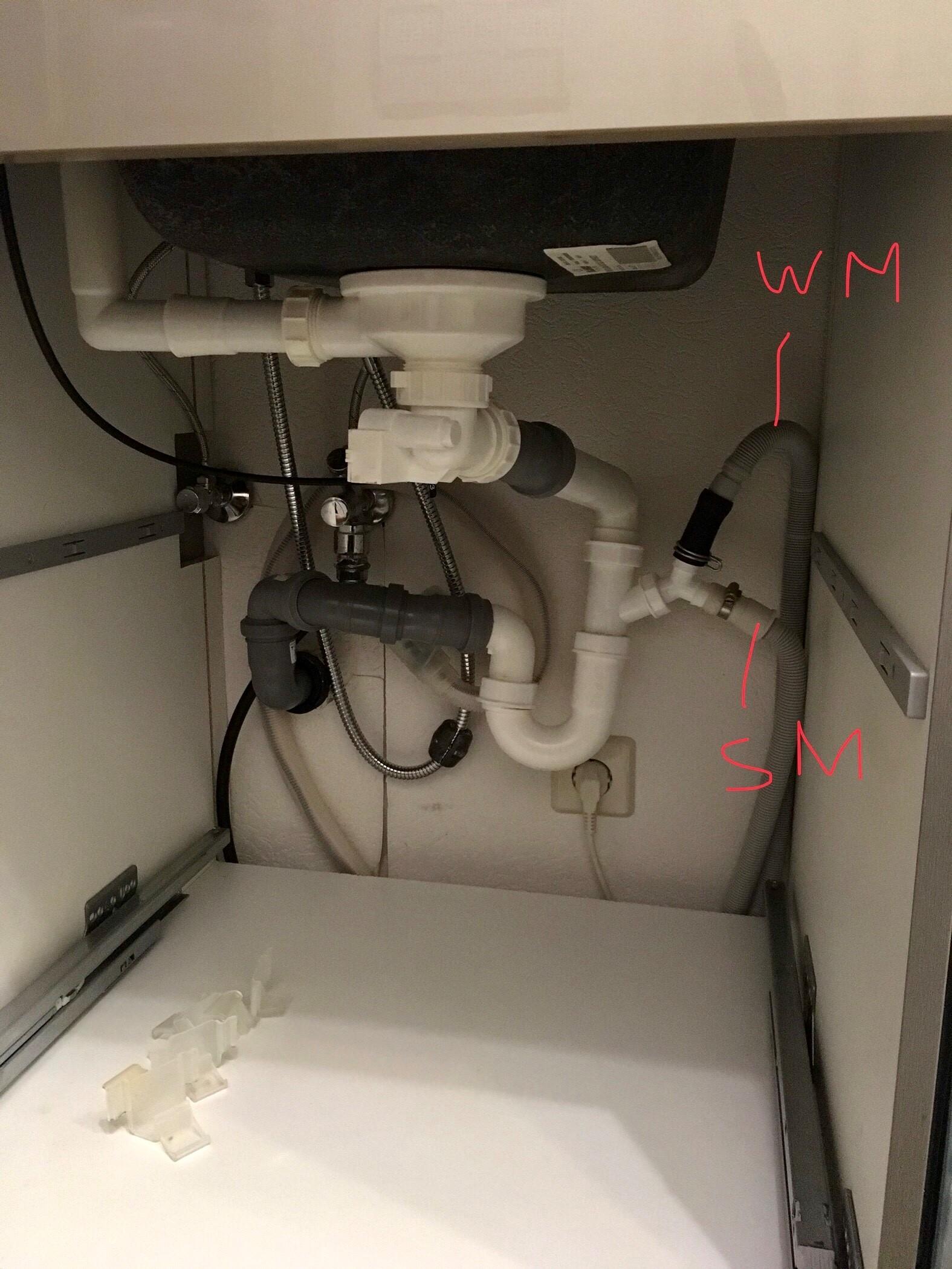 Anschluss von Wasch- und Spülmaschine an den Abfluss? (Technik ...