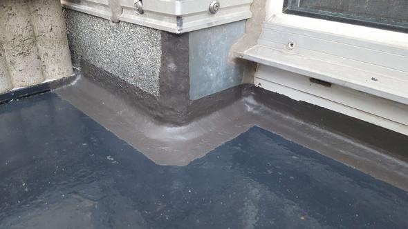 Anschlussbereich Ubergangsbereich Balkonboden Zur Hauswand