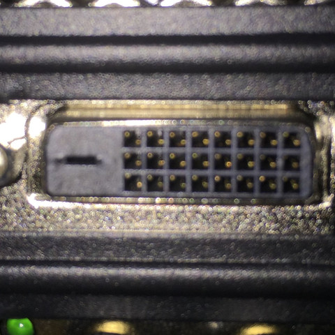 Das ist der Anschluss - (Computer, PC, Kabel)