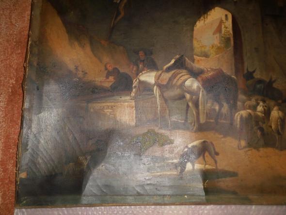 antik lgem lde um 18 jh maler wert bilder antiquit ten lgem lde. Black Bedroom Furniture Sets. Home Design Ideas