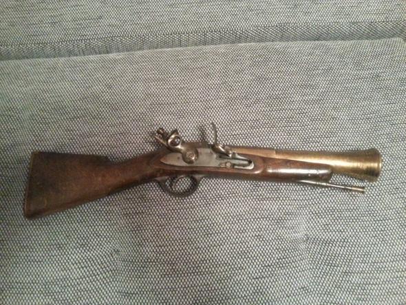 Antike Pistole Gewehr Wieviel Wert Waffen Antik