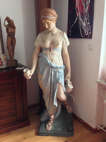 Frau 1 - (Antiquitäten, Antik, Skulptur - Verkauf)