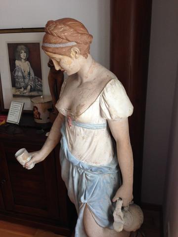 Frau 4 - (Antiquitäten, Antik, Skulptur - Verkauf)