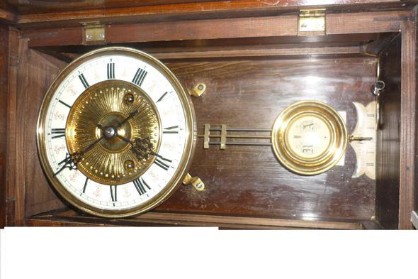 Antike Uhr - (Antiquitäten, Gründerzeit, Antike Uhr)