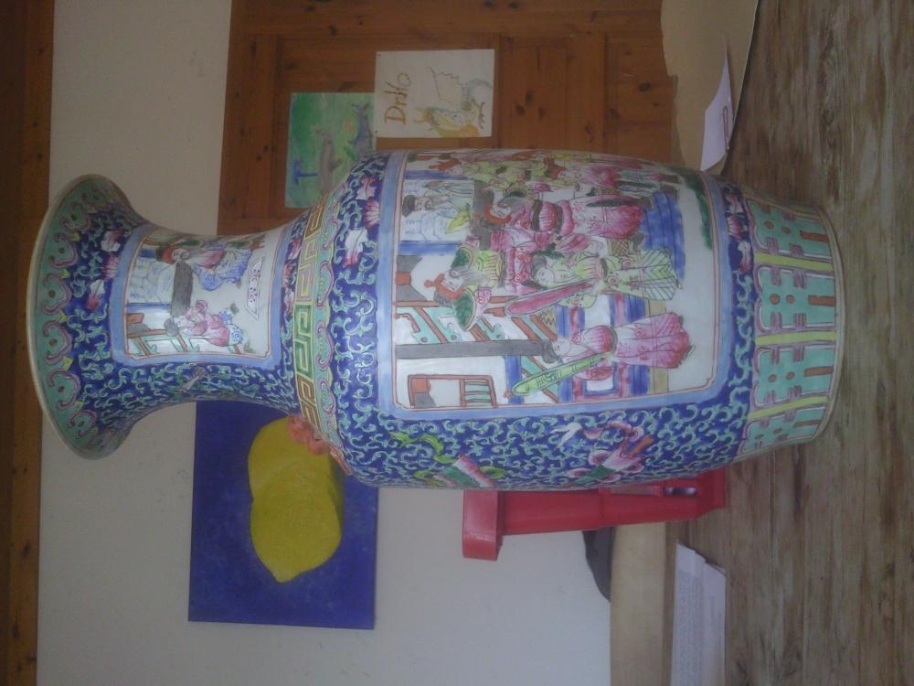 antike vase aus der chinesischen tongzhi dynastie welt. Black Bedroom Furniture Sets. Home Design Ideas