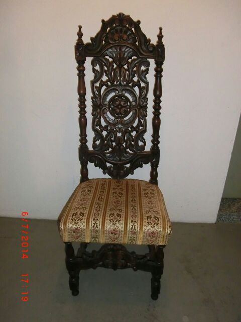 antiker stuhl wertvoll epoche antik. Black Bedroom Furniture Sets. Home Design Ideas