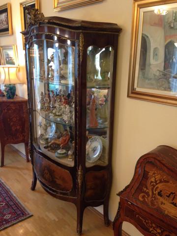 ... - (Möbel, Antiquitäten, vitrine)