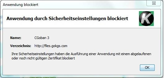 Screenshot - (Computer, Programm, Fehlermeldung)
