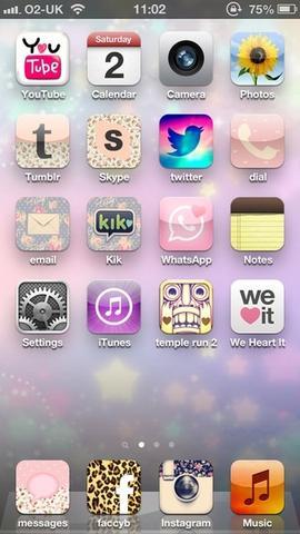 Wie macht man das? App Icons bearbeiten? (iPhone, Apple ...