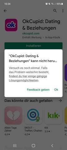 App nicht installierbar?
