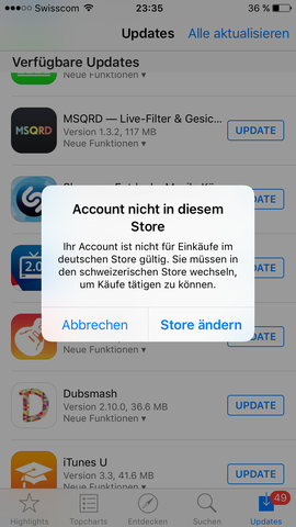 Bild Nr 1 - (App, Store)