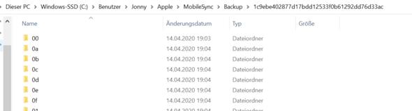 Apple Backup - Bilder und Videos wieder herstellen?