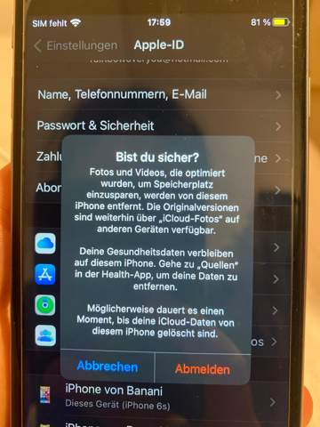 - (Apple, iPhone, Foto)