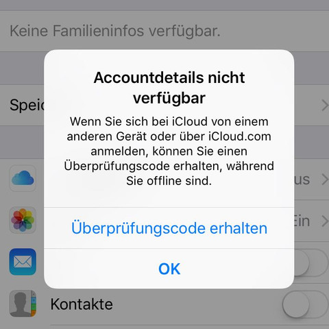 Billldeeerrrr - (Apple, Passwort, vergessen)