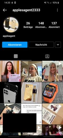 Apple Iphone11 gewonnen?