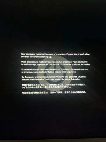 Apple MacBook Problem Beim einloggen?