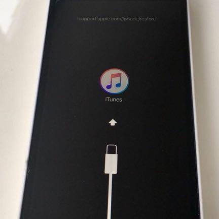 Diese Meldung hatte ich noch nie bei einem iPhone... - (iPhone, Apple, iTunes)