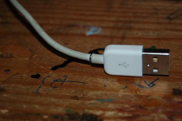 Angebrochenes Kabel - (iPhone, Apple, Kabel)