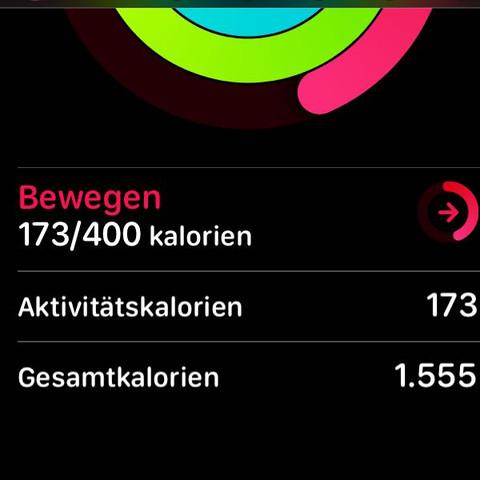 App 'Aktivität' auf iPhone  - (iPhone, Apple, Kalorien)