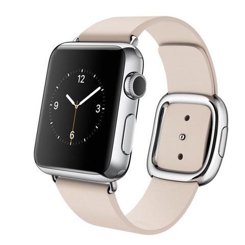 Lederband modern  - (Sport, Apple, Uhr)