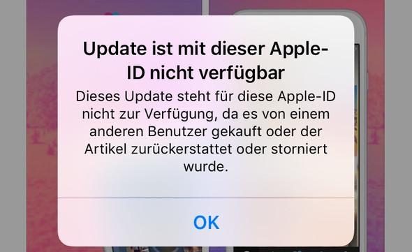 Fehlermeldung - (Handy, Technik, Apple)