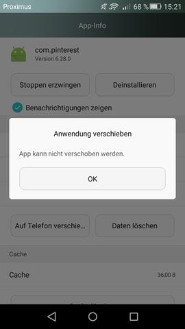 Fehlermeldung  - (Handy, Technik, Smartphone)