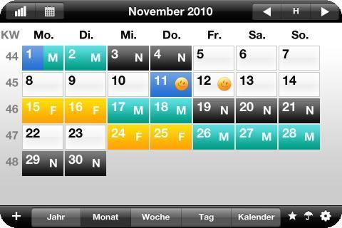 Urlaubsplan - (Arbeit, Android, App)
