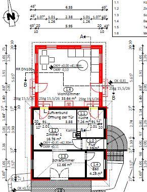 Grundriss - (bauen, Architektur, Hausbau)