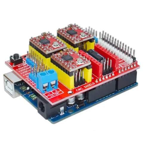 Arduino CNC Shield als einfaches Motor Shield?
