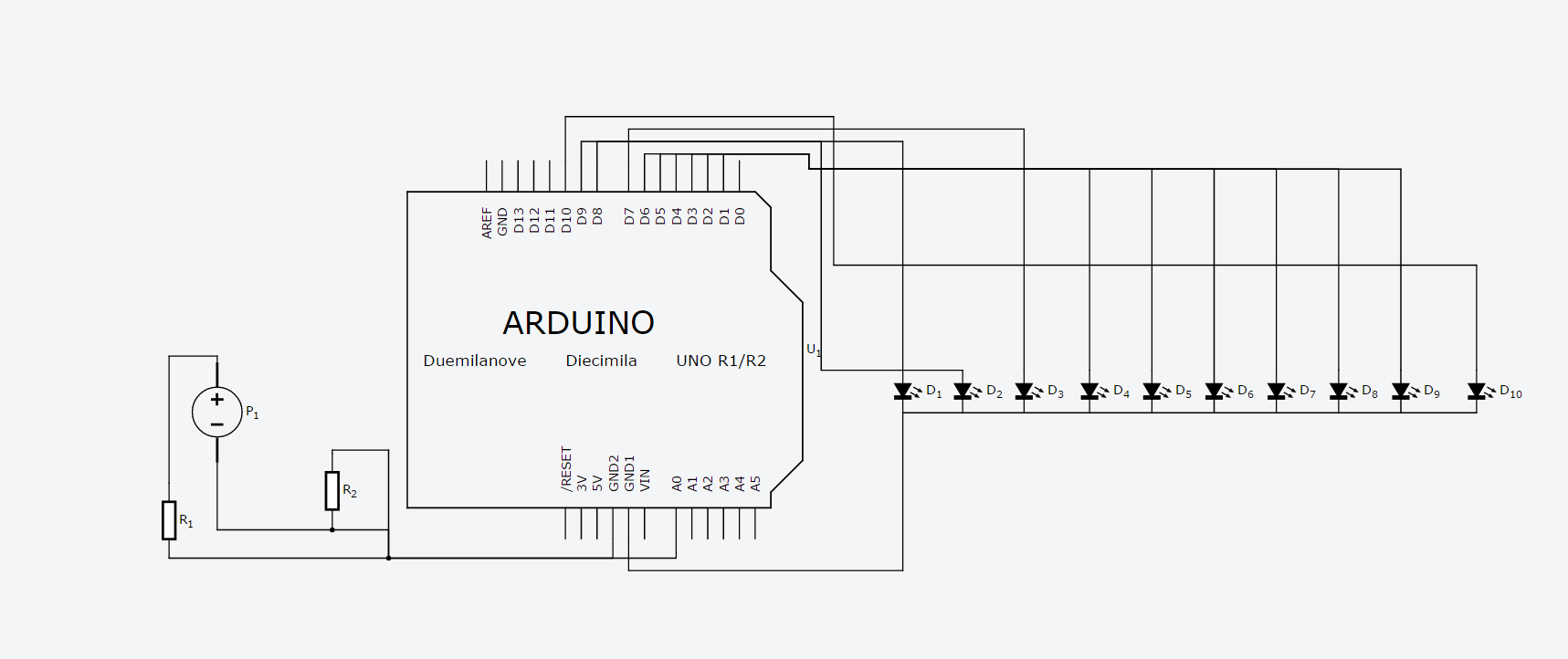 arduino programm spannungsanzeige mittels leds will nicht. Black Bedroom Furniture Sets. Home Design Ideas
