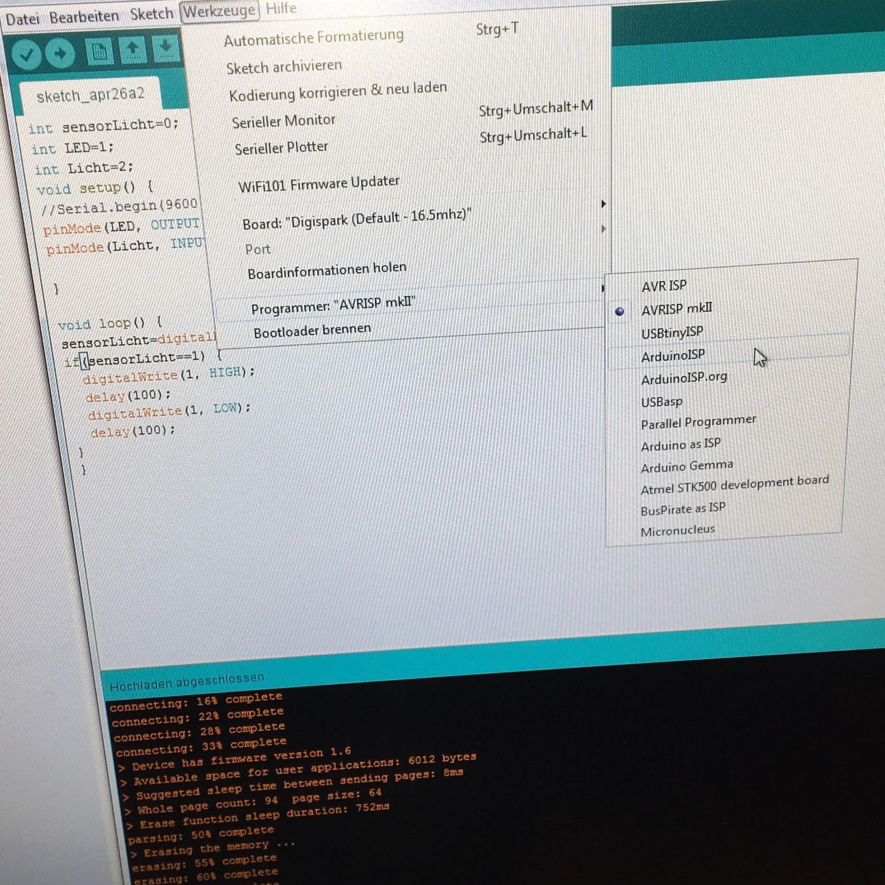 Arduino programmer:... was muss ich auswählen? (Computer, Technik ...
