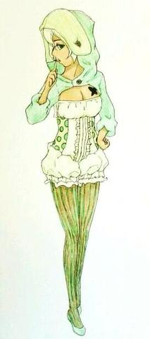 Raupe aus are you alice - (Anime, Kleidung, Schuhe)