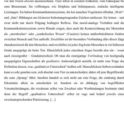 Text 2 - (Schule, deutsch, Tiere)