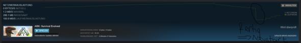 Hier sieht man, dass es fertig durchsucht hat und einfach von neu anfängt... - (PC, PC-Spiele, Steam)