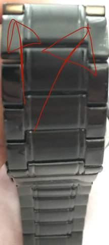 Armbandfarbe nicht komplett?