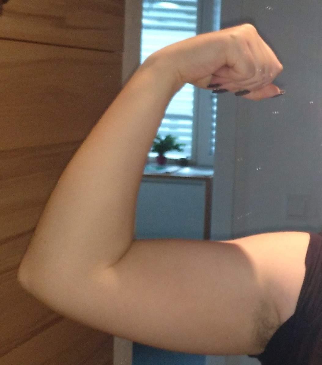 Arme viel zu muskulös? (Muskeln, Arm)