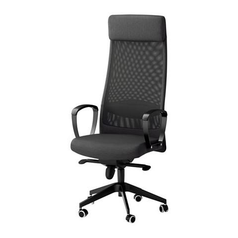 Mein Stuhl, die Armlehnen müssen mehr gepolstert werden - (Möbel, Buero, IKEA)