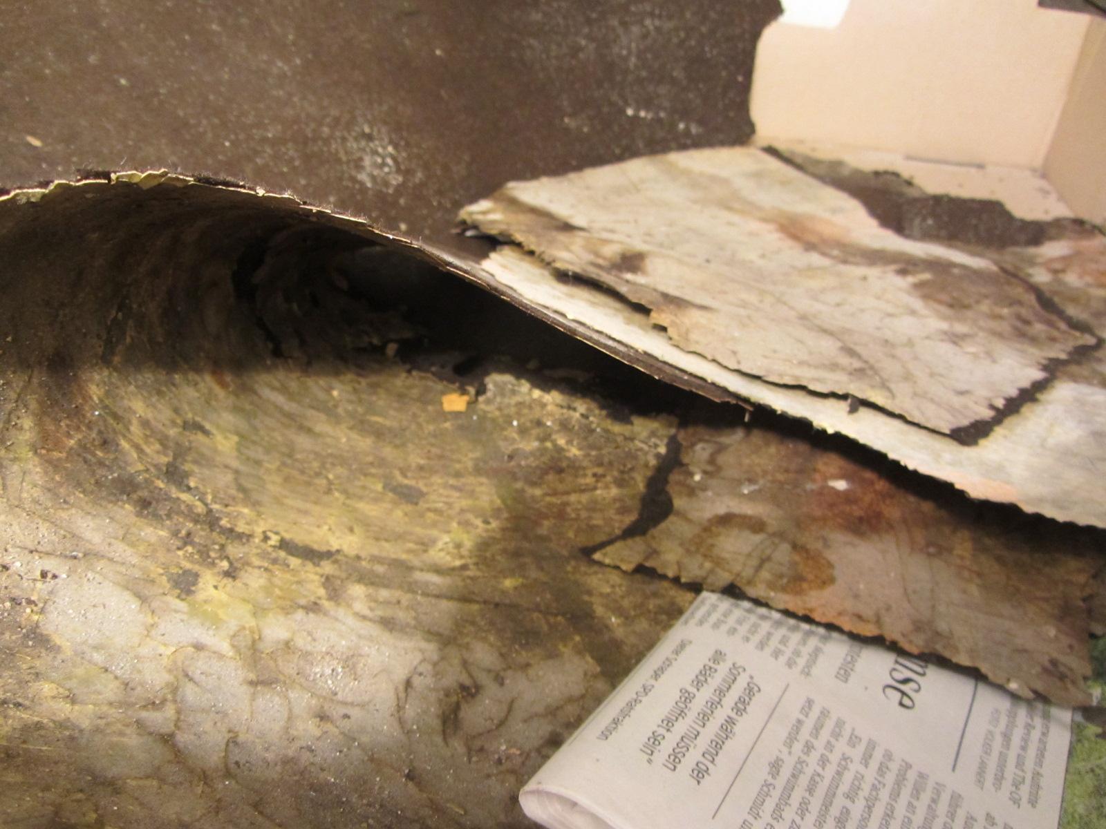 Extrem Asbest in Bodenbelag wie erkennen? Mit Fotos. YT25