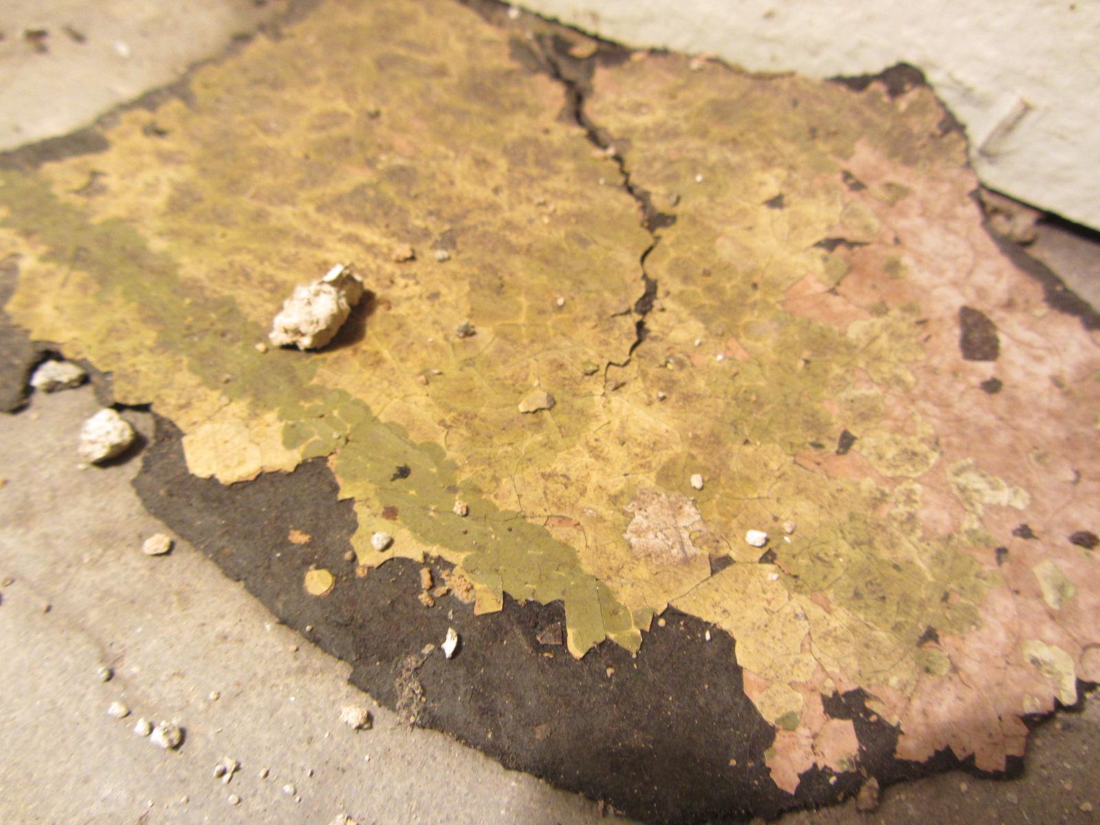 asbest in bodenbelag wie erkennen mit fotos. Black Bedroom Furniture Sets. Home Design Ideas