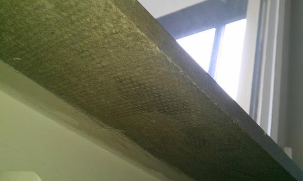 Asbest in Fensterbank, bitte um Beurteilung. (Wohnung)
